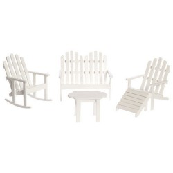 ADIRONDACK FURNITURE/5/WHITE