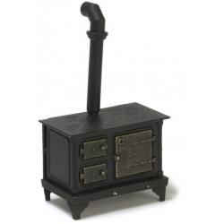 BLACK METAL STOVE