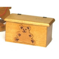 SMALL BEAR TOY BOX