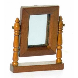 LINCOLN DRESSER MIRROR, WALNUT