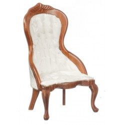 VICT. LADIES CHAIR, WALNUT