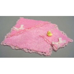 PINK TOWEL CLOTH & DUCK