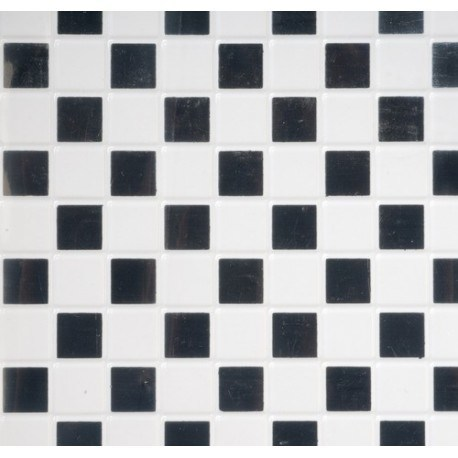 Black White Vinyl Tile Floor Dollhouse Flooring Superior Miniatures