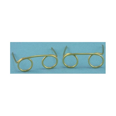 GOLD EYEGLASS SET/2