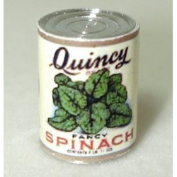 QUINCY SPINACH (1 LB CAN)