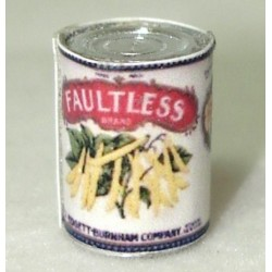 FAULTLESS WAX BEANS (1LB CAN)