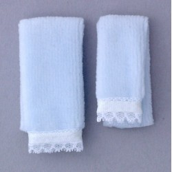 BATH TOWEL SET/2/BLUE