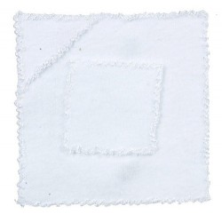 BABY TOWELS/WHITE