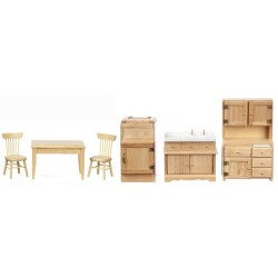 KITCHEN SET/6/OAK/CS