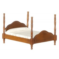 CANNONBALL BED/WALNUT