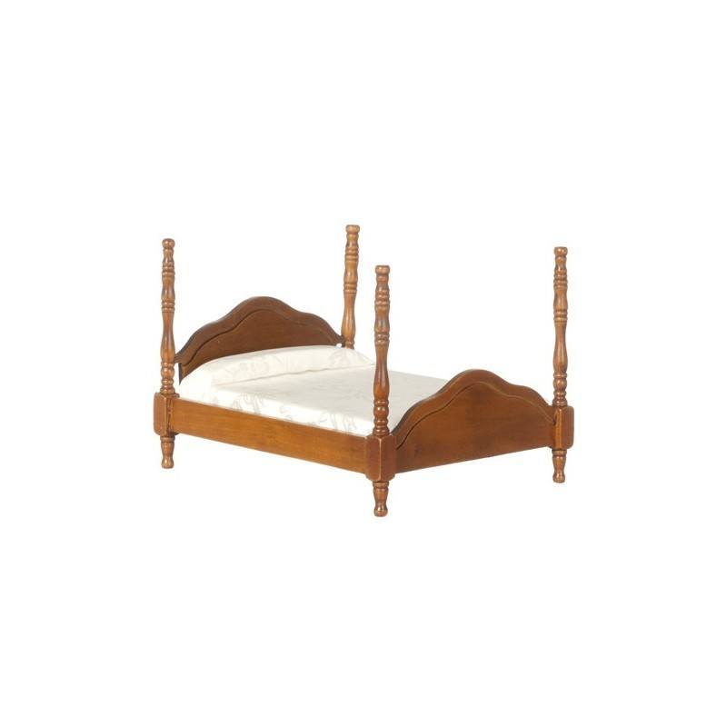 Cannonball Bed Walnut Dollhouse Beds Superior