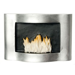 Resin Fireplace