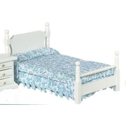 SINGLE BED/WHITE/CB