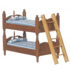 BUNKBEDS W/LADDER/BL/WAL