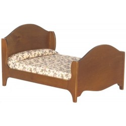 DOUBLE BED/WALNUT