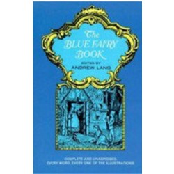 1/2in BLUE FAIRY BOOK