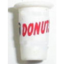 DONUT TAKE OUT CUP-FILLED