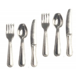 SILVER CUTLERY SET OF 6