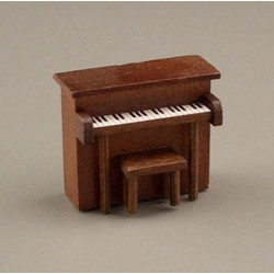 CHILD'S PIANO W/BENCH