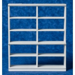 Large White Shelf Unit