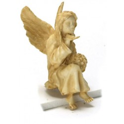 SITTING ANGEL/TAN