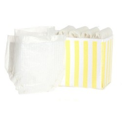 DIAPER BOX/YELLOW