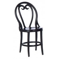 2 CAFE CHAIRS/BROWN