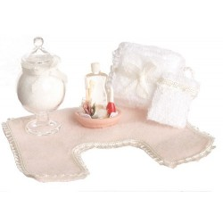 BATHROOM ACCESSORIES/PINK