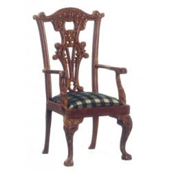 ORLEANS ARMCHAIR/WALNUT