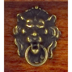 LION HEAD KNOCKER/ANTIQUE