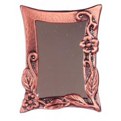 ANTIQUE COPPER MIRROR