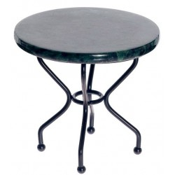 RD.MARBLE TOP IRON TABLE