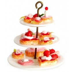 SWEETS ON 3-TIER
