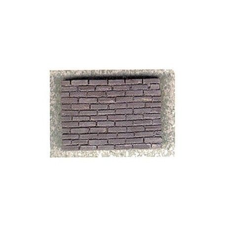 Charcoal Brick, 325 Pcs | Dollhouse Siding