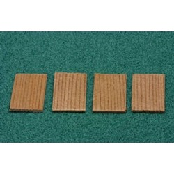 250PCS SQUARE CEDAR SHINGLES