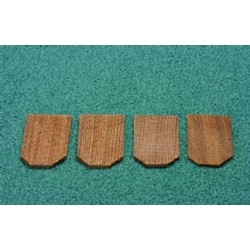 250 PCS HEXAGON CEDAR SHINGLES