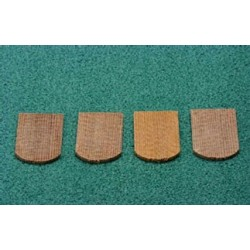 250 PCS FISHSCALE CEDAR SHINGLES