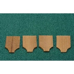CAPE MAY CEDAR SHINGLES 250 PCS