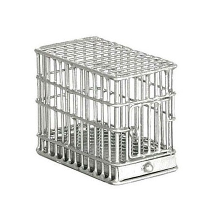 1/2 IN DOG CAGE, GALVANIZED