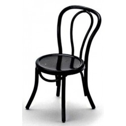 PATIO CHAIR, BLACK