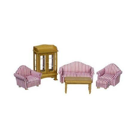 1/2 IN LIVING ROOM SET, 6PC