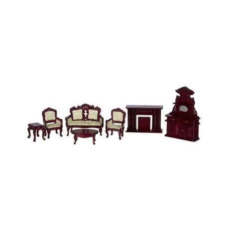 1/2 IN LIVING ROOM SET, 7PC