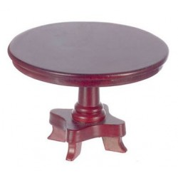 ROUND TABLE, MAHOGANY