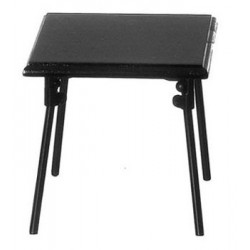FOLDING TABLE, BLACK
