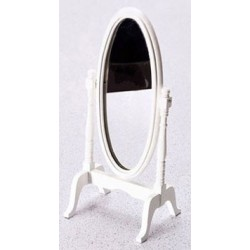 CHEVAL MIRROR, WHITE