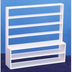 STORE SHELF, WHITE