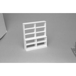 LARGE SHELF UNIT/WHITE