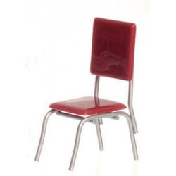 1950's STYLE RED CHAIR