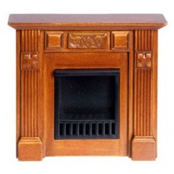 Walnut Elizabeth Fireplace