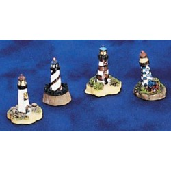 MINI LIGHTHOUSES, 4PC